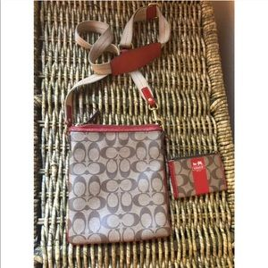 Coach Bags - Coach crossbody and wallet set